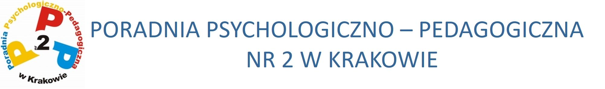 PORADNIA PSYCHOLOGICZNO – PEDAGOGICZNA NR 2 W KRAKOWIE